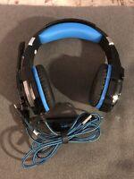 KOTION EACH G9000 PC/PS4/Xbox One/Mac Gaming Headset Headphone w/Boom Mic/LED