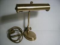 Bürolampe,Bänkerlampe,Schreibtischleuchte,Tischlampe,Messing,Geschenkidee