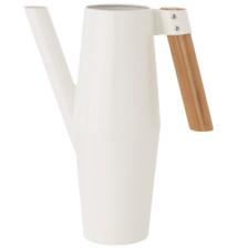 IKEA BITTERGURKA Gie�Ÿkanne 2L Blumengie�Ÿkannestahl wei�Ÿ Bambus