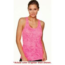 Next Level Ladies Racerback Burnout Tank Top Womens  L XL 6533