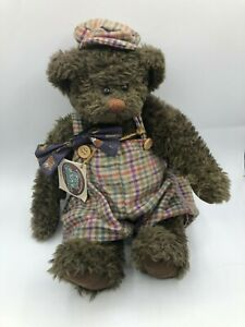 Ganz Cottage Collectibles Wooster Bear Plush Soft Stuffed Toy Doll Lorraine 1995