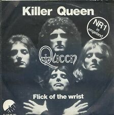 7inch QUEEN killer queen HOLLAND1974  BLACK LABEL RARE