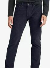 NEW Levi's Men's 502 Tapered Fit Corduroy Pants Dark Navy Blue Size 32X30