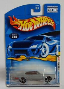 Hot Wheels 2000 First Editions '67 Dodge Charger Long Card