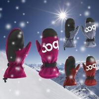 Men Women Winter Ski Snowboard Gloves Windproof Waterproof Warm Sport Mittens US