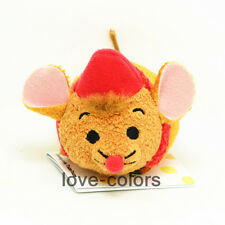 "3.5""  New Disney Tsum Tsum Jaq from Cinderella Stuffed plush Toy mini Doll Gift"