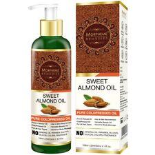 Morpheme Pure Sweet Almond Coldpressed Oil.For all hair types (Buy 120ml)