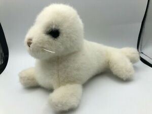 Official Gund 1986 Phineas The White Harp Seal Plush Soft Stuffed Toy Animal