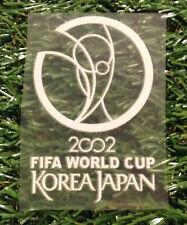 fifa world cup 2002 soccer  korea japan iron on heat press arm patch details