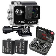 MUSON Action Camera HD 1080P Sports DV WiFi Digital Video Camcorder 30M Water...