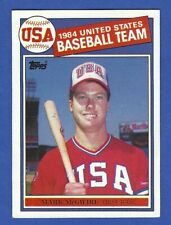 Mark McGwire, Oakland A's 1985 Topps Rookie Card #401 - NRMT