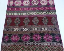 COPERTA scialle indiano lana acrilica Gettare Reversibile Motivo Etnico Boho Sciarpa