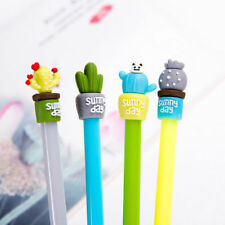 2x Creative Kawaii Cactus Gel Pen Ballpoint Writing Pen Stationery Office&School