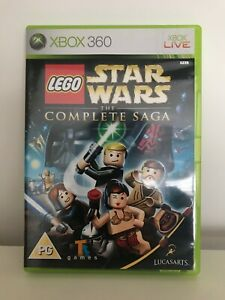 LEGO Star Wars: The Complete Saga Rare Original Version Microsoft Xbox 360