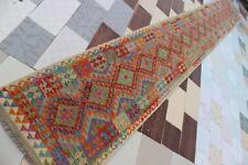 794...Best Quality Hand Woven Lamb Wool Kilim..Size ..588 .x 77..CM