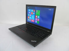 "Lenovo ThinkPad W541 15.6"" FHD 2.8GHz CORE i7 4810MQ 32GB 240GB SSD 500GB HDD W8"