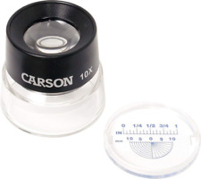 Carson LumiLoupe Series Pre-Focused Stand Magnifier Loupes