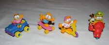 Vintage 1988 Garfield McDonald's Happy Meal Toys Complete Set