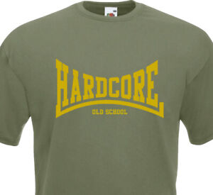 T-Shirt HARDCORE ( graphisme Lonsdale ) - Old School NYHC Madball Agnostic Metal