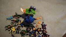 Lot of Teenage mutant ninja turtles, He-Man, Ghostbusters toys