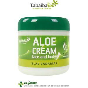 Tabaibaloe Visage & Body Crème Visage Corporelle Aloe Vera Îles Canaries 300ml