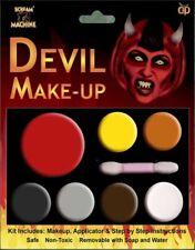 Halloween make up viso vernice multi-Pallet Kit Devil Red Fancy Dress Party