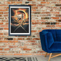 William Blake The Ancient of Days Wall Art Poster Print