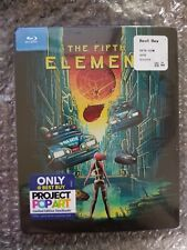 THE FIFTH ELEMENT STEELBOOK [NEW/OOP/Blu-ray] Project Pop Art Best Buy