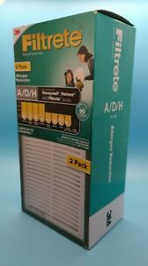 Filtrete A/D/H Allergen Reduction Air Purifier Filters HEPA - 2 Pack