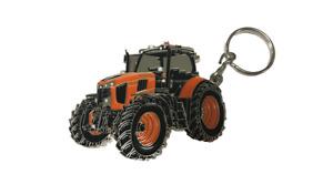 Kubota Branded 'For Earth For Life' M7-171 Kubota Tractor Metal Keyring