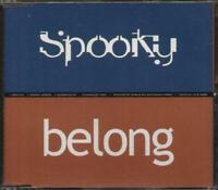 SPOOKY Belong  CD 4 Tracks, Radio Mix/Orig Version/Echospace Mix/Cd Enhanced Vid