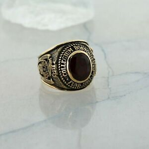10K Yellow Gold Boston College Class of 1984 Ring, Size 10