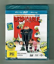 Despicable Me : 3D Blu-ray + Blu-ray 2-Disc Set Brand New & Sealed