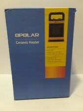 OPOLAR 1500W Ceramic Space Heater Office Home School Personal Winter Room Yellow