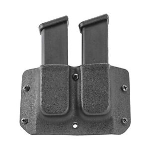 Mission First Double Mag Pouch Double Stack 9/40 Fits Glock, S&W M&P HDMP-GDS940