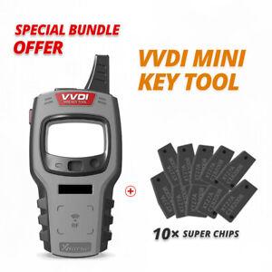 Xhorse VVDI MINI Key Tool Programmer Tester Cloner + 10 Xhorse Super Chip