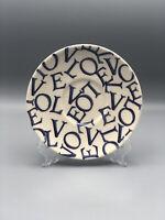 "Emma Bridgewater Pottery LOVE 6"" Saucer ~Commemorative Backstamp~England"
