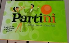 PARTINI Adult Board Game, The Party Recipe Game by Parker Brothers *NEW IN BOX
