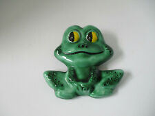 CERAMIC FROG TO HANG ON WALL, EXCELLENT CONDITION