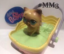 Persian Cat Magic Motion #Mm3 - Authentic Littlest Pet Shop - Hasbro Lps