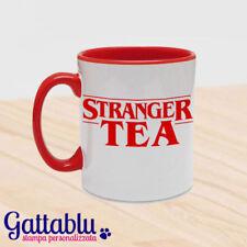 Tazza Stranger Tea, Stranger Things inspired divertente, rossa