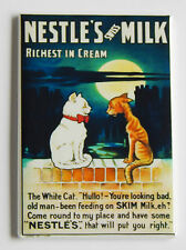 Cat Milk FRIDGE MAGNET (2 x 3 inches) poster advertisement swiss dairy