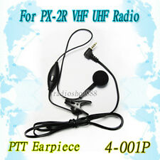 Ptt Earpiece mic for Px-2R handheld radio