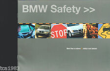 2002 BMW SAFETY Catalog / Brochure; 7 Series, ISIS, 325i,