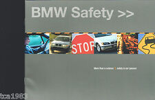 2002 BMW SAFETY Catalog / Brochure; 7 Series, ISIS, 325i, '02