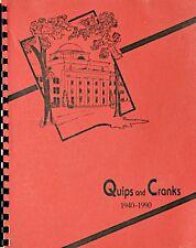 QUIPS AND CRANKS 1940-1990 YEARBOOK Davidson College • Davidson • North Carolina