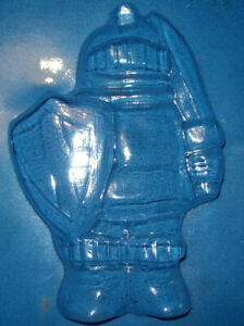 ONE LARGE MEDIEVAL KNIGHT CHOCOLATE MOULD OR PLASTER MOULD