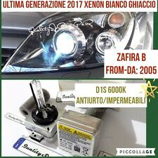2 Lampadine XENON D1S OPEL ZAFIRA B 2005> cdti fari HID 6000K RICAMBIO Luci opc