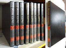 I GRANDI ENIGMI Fra Cronaca e Storia -di A. Petacco - De Agostini -8 volumi 1983