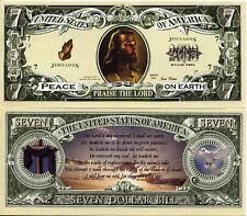 JESUS - PSAUME 23 BILLET DOLLAR US - Collection RELIGION Catholique Verset Bible